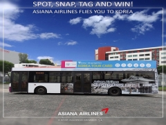 Spot, Snap, Tag and WIN Tickets for Flight to Korea with Asiana Airlines