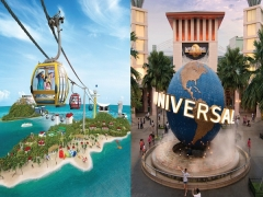 Up to 28% Off Fly and Play Promotion in Sentosa with NTUC Card