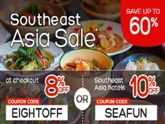 Southeast Asia Sale with Up to 60% Savings in Hotels.com