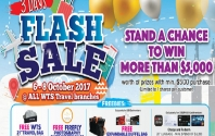 3 Days Flash Sale with WTS Travel & Tours