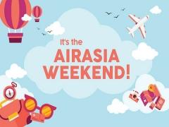 AirAsia Weekend Mobile App Deals a 20% Off Base Fare!