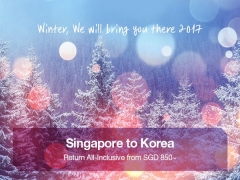 Enjoy Winter in Korea with Flights in Asiana Airlines from SGD850