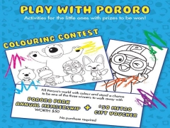 WIN Pororo Park Singapore Annual Pass until tonight at 630pm