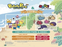 Combo Deal for Pororo Park Singapore and Mosh! at SGD40