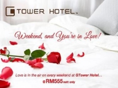 Romantic Getaway Package in G Tower Hotel for Valentine's Day