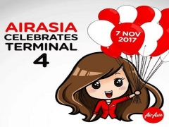 WIN Return Flights to Cebu, Bintulu, Medan, Padang and Krabi with AirAsia