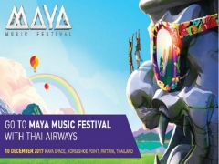 Fly to Bangkok with Thai Airways and Get a Complimentary MAYA Tickets