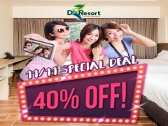 11/11 FLASH DEAL | Save 40% for your Stay in D'Resort @ Downtown East