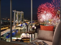 Lunar New Year Fireworks Package in Pan Pacific Singapore