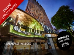 Visit Singapore (Sep to Nov) and Stay in Mandarin Orchard with 5% Savings