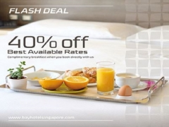 40% Off Best Available Rate in Bay Hotel Singapore