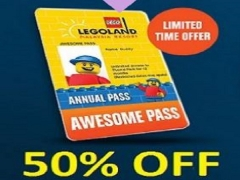 Limited Time Offer until 26 Nov 2017 | Get your Legoland Malaysia's Pass at 50% Off