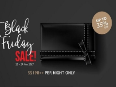 Black Friday Sale with Stays from SGD198 in Marina Mandarin