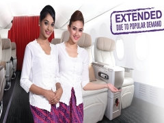 Flash Deals - Business Class Seats on Sale in Malindo Air from SGD158