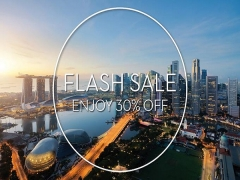 30% Off Exclusive Flash Sale in Swissotel The Stamford Singapore