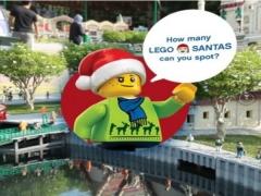 WIN Legoland Malaysia Passes by Spotting Santa!