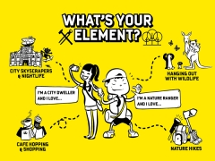 Be in your Element and Experience Melbourne Today with Scoot from SGD149
