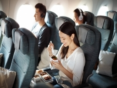 Special Economy and Premium Economy Fares at Cathay Pacific with AMEX Card
