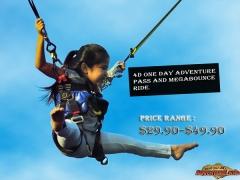 Sentosa 4D AdventureLand Pass and Mega Bounce Ride from SGD39.90