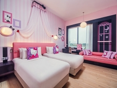 Jen's Hello Kitty Themed Rooms Flash Deal with 10% Savings in Hotel Jen Puteri Harbour