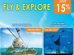 Enjoy 15% Savings to Jazz up your Adventure with Singapore Cable Car