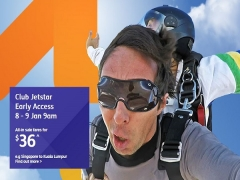 Club Jetstar Early Access to Flight Deals from SGD36