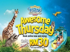 Awesome Thursday Deal in Sunway Lost World of Tambun from RM30