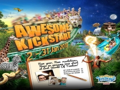 Awesome Kickstart New Year Special in Sunway Lost World of Tambun