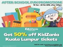 After School Promotion in KidZania Kuala Lumpur at 50% Off