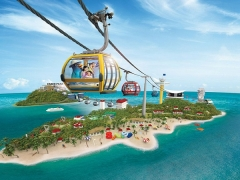 1-FOR-1 Promotion in Singapore Cable Car with DBS Card