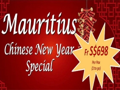 Chinese New Year Special with Air Mauritius from SGD698