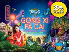 Chinese New Year Special in Sunway Lost World of Tambun with Up to 35% Savings