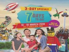 Legoland Malaysia at 50% Savings in MATTA Fair 3-Day Special