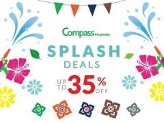 Splash Deals for Songkran in Thailand with Compass Hospitality