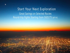 Rountrip Fares to China, Korea and Japan from SGD275 with China Southern Airlines