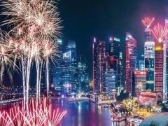 2019 New Year Countdown in Marina Mandarin Singapore