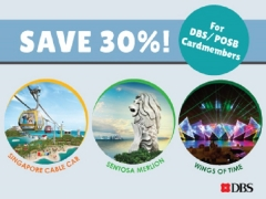 Save 30% on One Faber Group Attractions with DBS/POSB Card