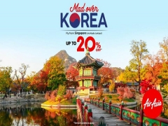 Mad Over Korea   Fly with AirAsia at 20% Off now!
