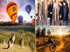 Explore Canberra with Singapore Airlines from SGD658