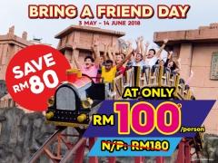 Bring A Friend At RM100 n Sunway Lagoon