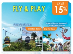 Fly and Play Package in One Faber Group Attraction with Up to 15% Savings