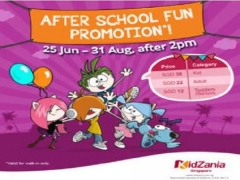 After School Fun in Kidzania Singapore from SGD36