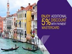 Enjoy Additional 5% Discount on Airfares in Thai Airways with MasterCard