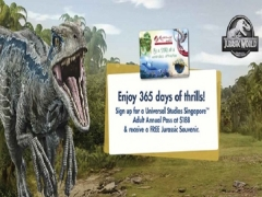 Buy Universal Studios Adult Annual Pass & Receive Free Jurassic Souvenir