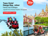 Fun Family Packages to Legoland or Universal Studios Singapore in Tune Hotel