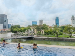 Limited Time Offer with 15% Off Best Available Rate in The Fullerton Hotel Singapore