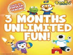 Extended Till 31st of July. 3 Month Unlimited Fun in Pororo Park Singapore