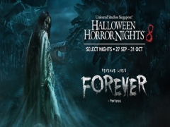 Maybank Early Bird Exclusive: Enjoy SGD8 off Halloween Horror Nights™ 8 Admission + Free Coke