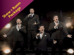 IL Divo Timeless Tour Live in Genting Room Package in Resorts World