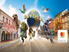 Mastercard® Exclusive: Universal Studios Singapore Adult One-Day Ticket + SGD5 Meal Voucher + SGD5 Arcade Credits Voucher^ at SGD76